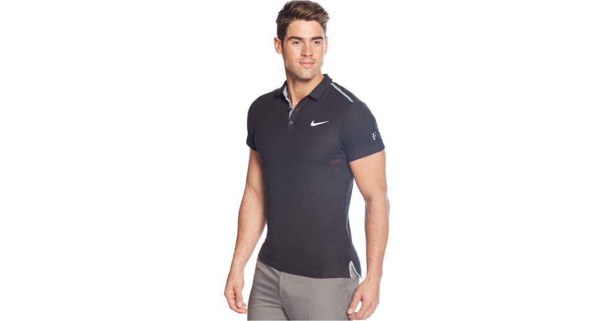 Nike Performance Polo >> Nike Advantage Premier Performance Polo In Black For Men Lyst