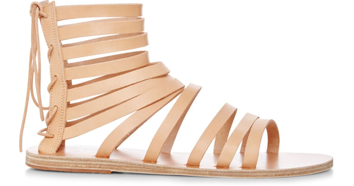 9ddd03bc218cae Lyst - Ancient Greek Sandals Galatia Multi Strap Sandals in Natural