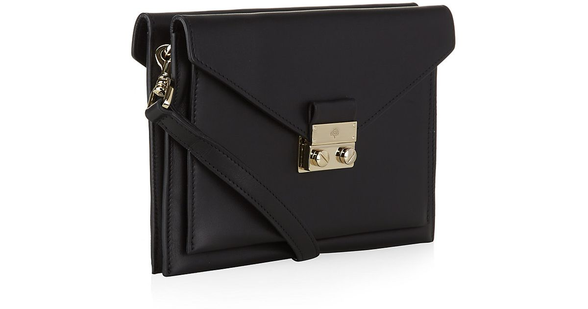 5b442651ca698 Mulberry Small Kensal Shoulder Bag in Black - Lyst