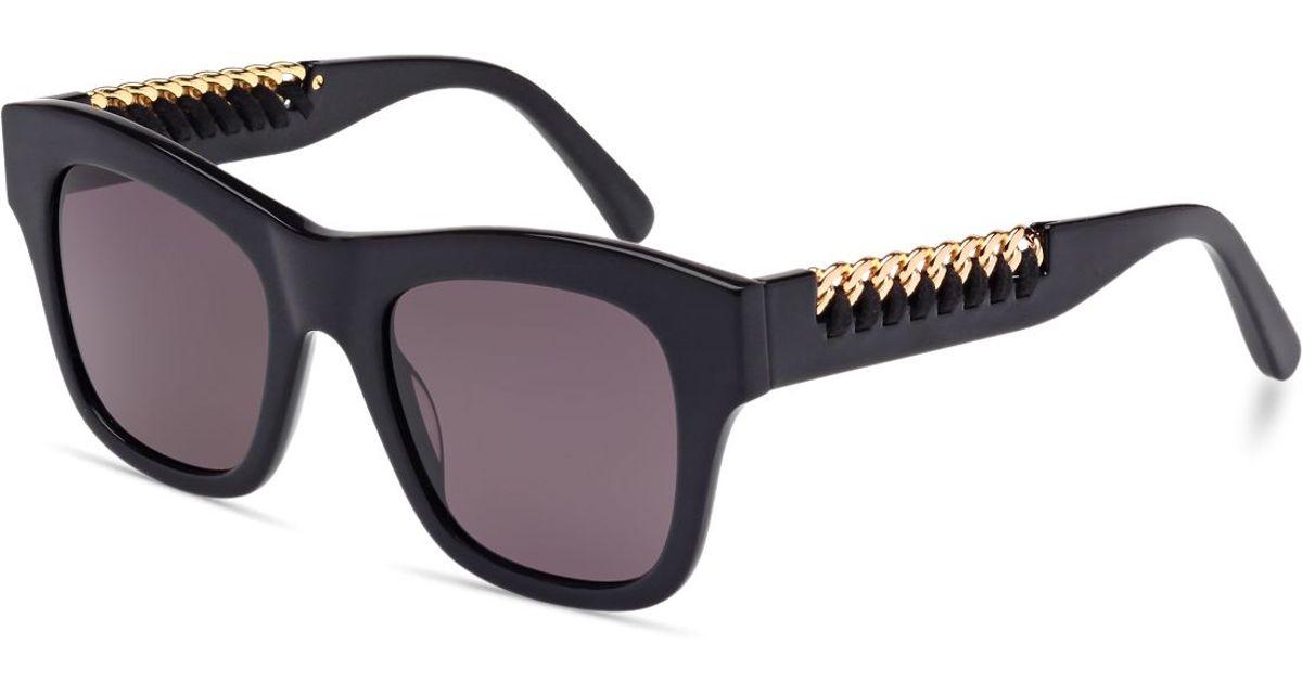 d3edd9e48ba27 Stella Mccartney Gold Chain Sunglasses
