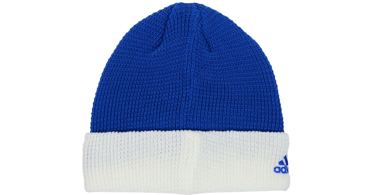 91799af4396 Lyst - adidas Originals Orlando Magic Authentic Cuffed Knit Hat in White  for Men