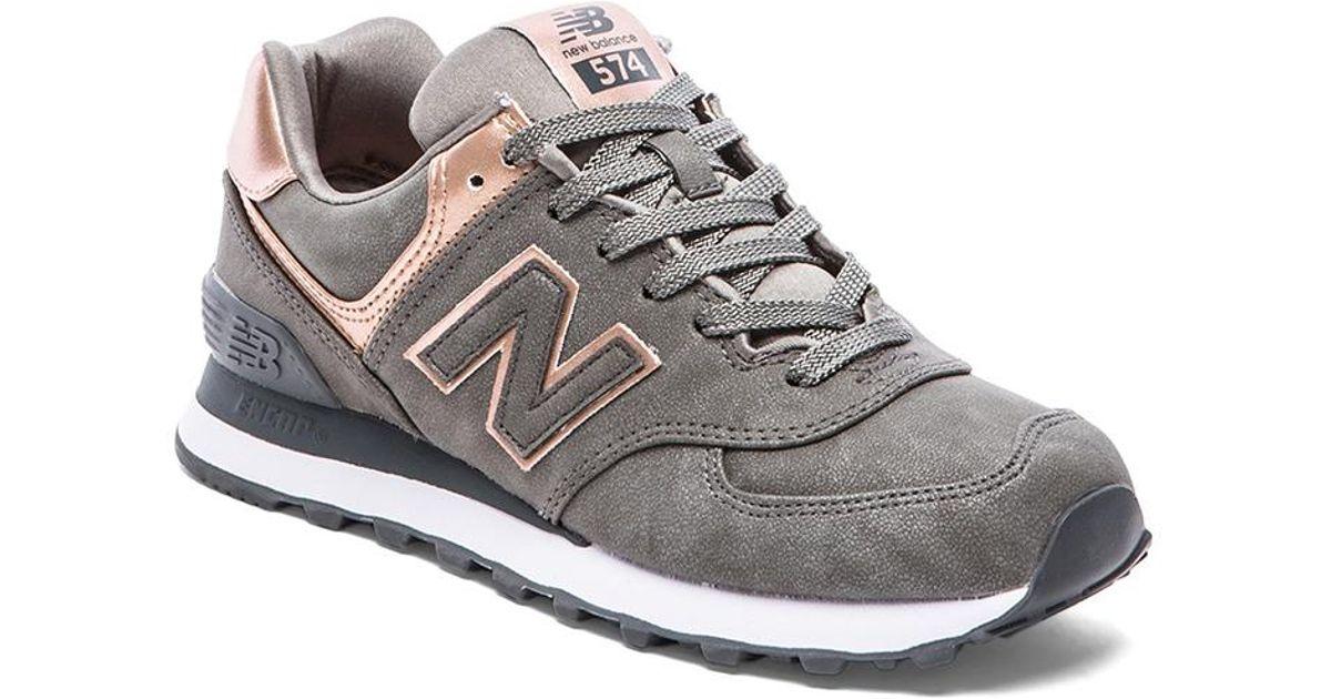 New Balance Metallic 574 Precious Metals Collection Sneaker