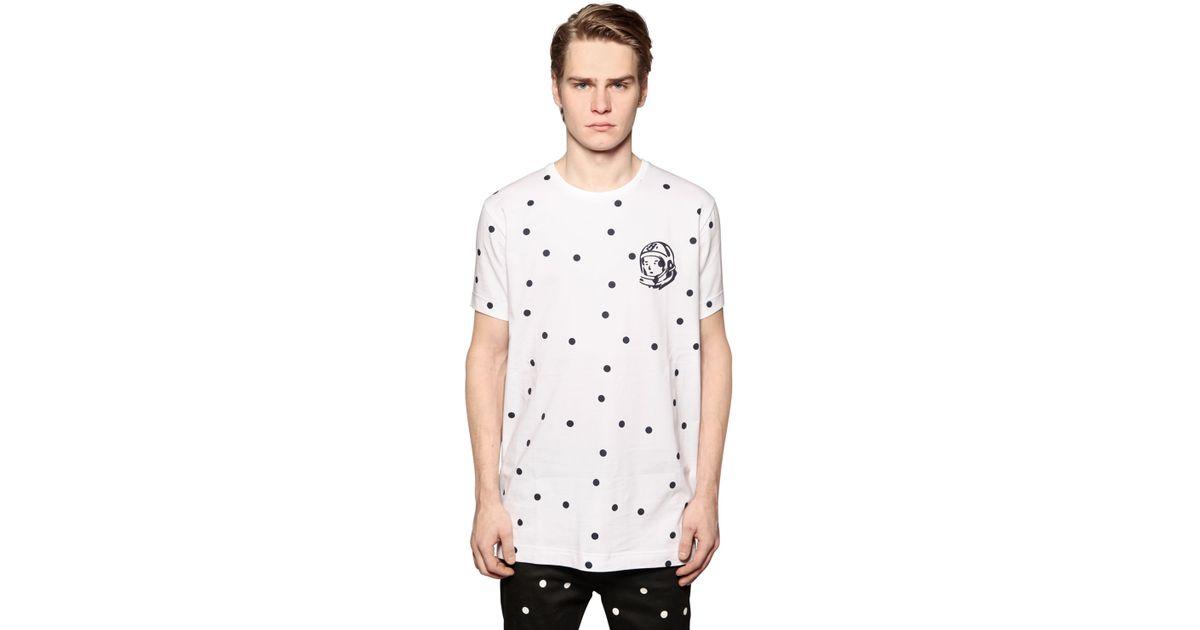 b410c45ca BBCICECREAM Polka Dot Printed Cotton T-shirt in White for Men - Lyst