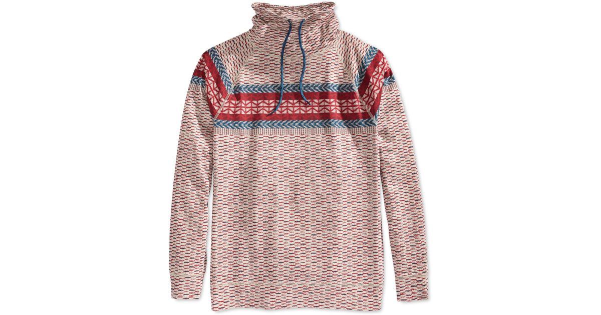 Lyst - American rag Fair Isle Fake Out Sweater in Natural for Men