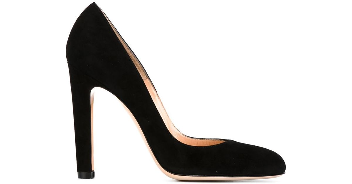Gianvito Rossi Chunky heel pumps
