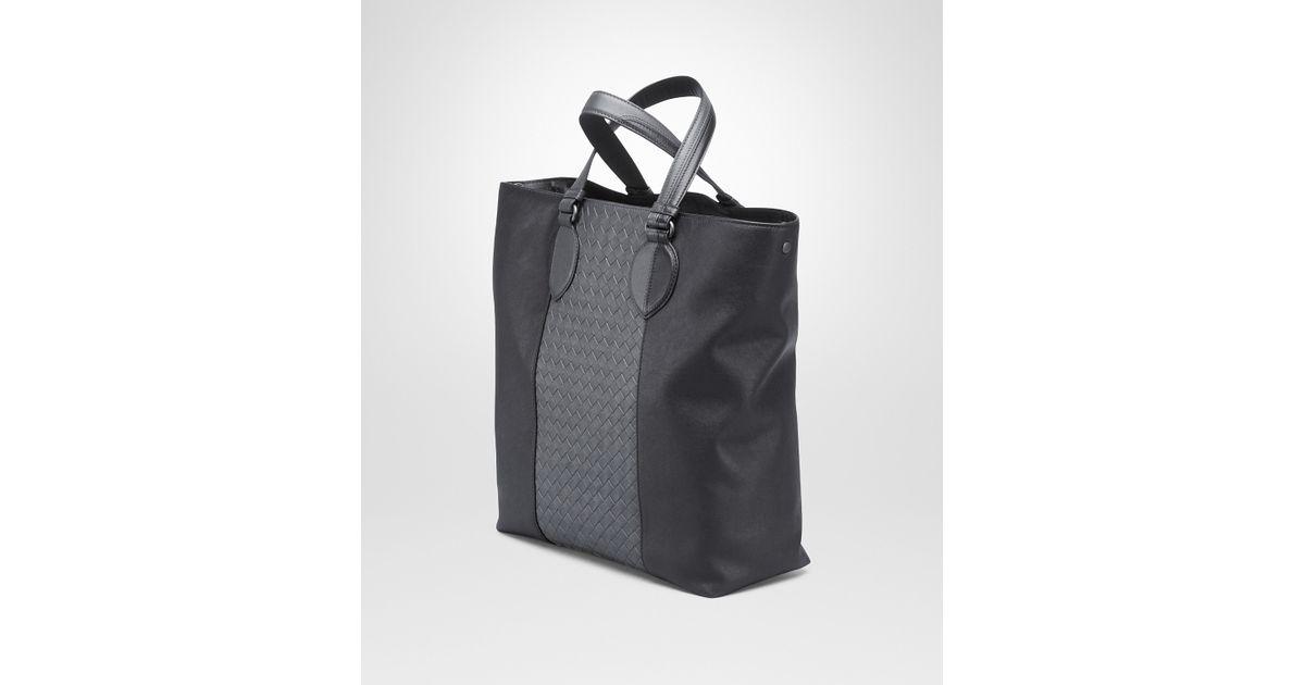 d679e81061f5c Bottega Veneta Nero Medium Grey Intrecciato Washed Nappa Tote Bag in Gray  for Men - Lyst