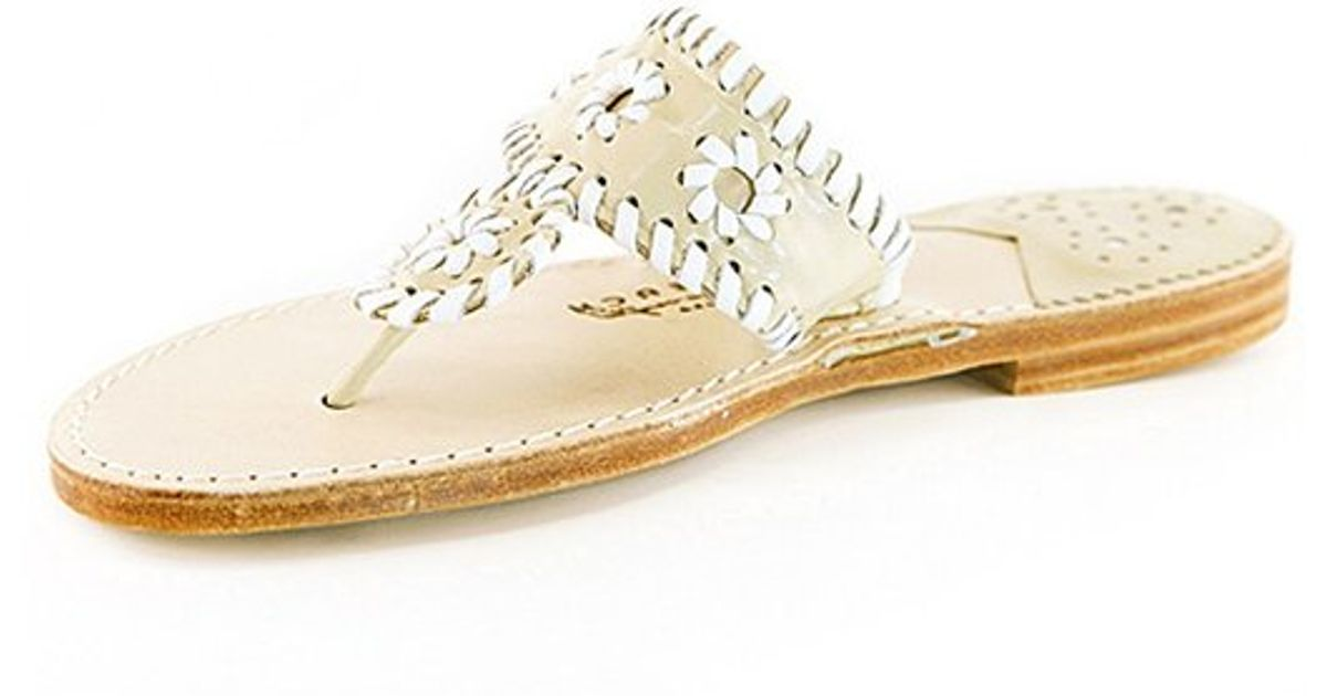 20736d912b812 Lyst - Palm Beach Sandals Classic Leather Sandal in Pink