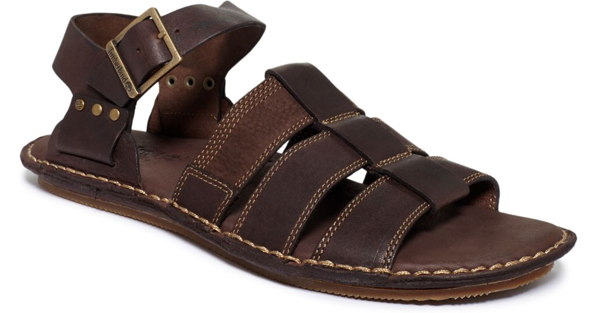 c6e543cc90 Lyst - Timberland Harbor Point Fisherman Sandals in Brown for Men