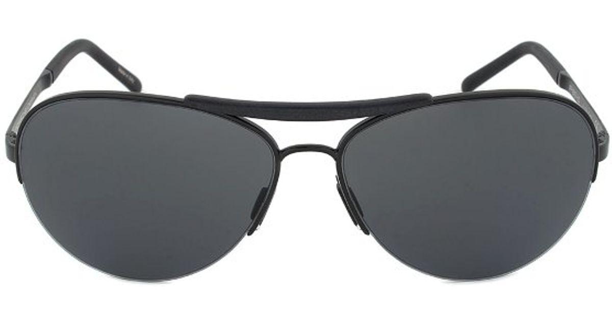 cbb00a31aaba Buy Porsche P 8433a Classic Aviator Style Sunglasses