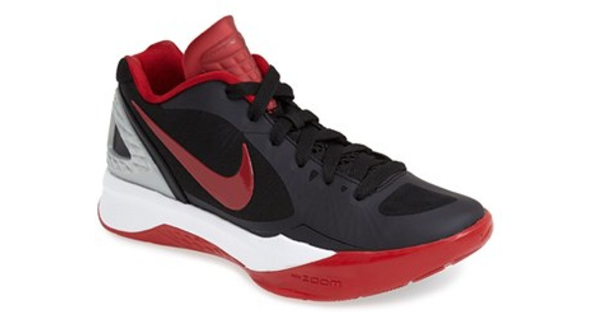 Black And Grey Nike Volleyball Shoes