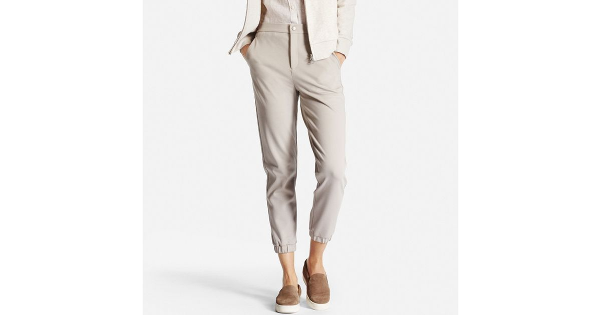 Lastest UNIQLO WOMEN DRAPE JOGGER PANTS
