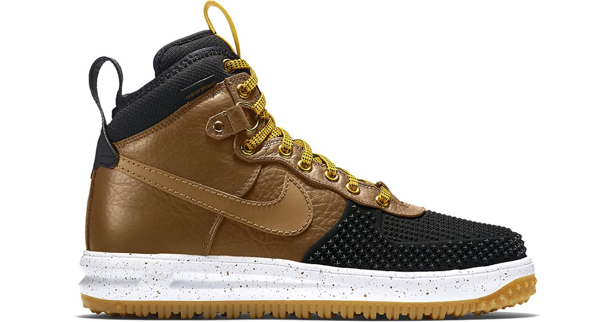 size 40 b8a6a fcf52 Lyst - Nike Lunar Force 1 Duckboot in Brown for Men