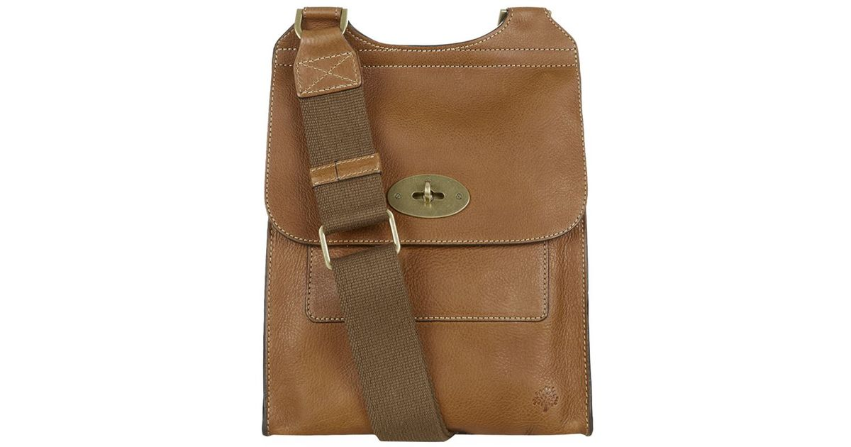 4950f4e3c4c4 coupon code for mulberry antony cross body bag in brown for men lyst 000f2  3c009