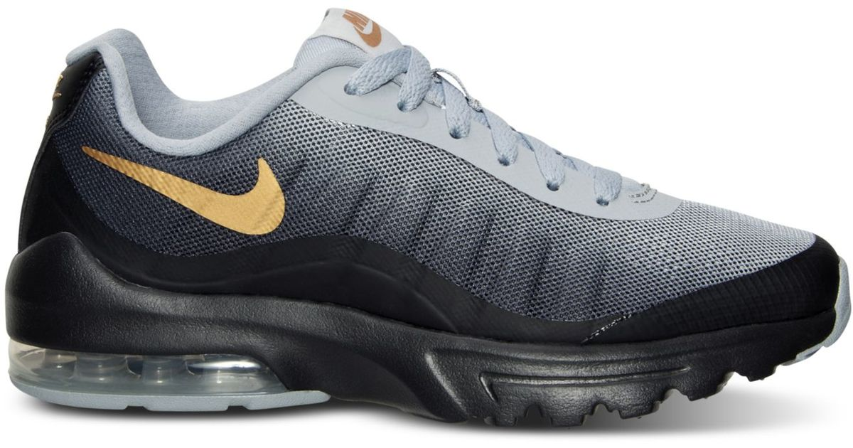 hot sale online cb845 0a2f0 ... top quality lyst nike womens air max invigor print running sneakers  from finish line in black