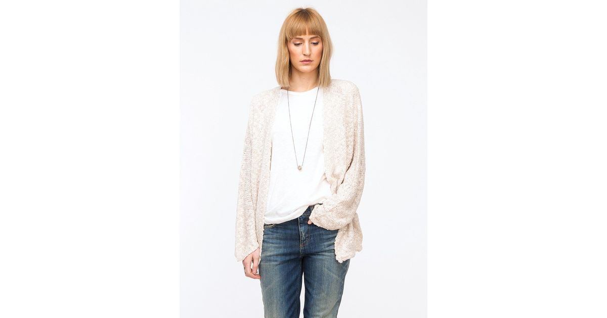 74a186d2f0 Need Supply Co. - Natural Selena Cardigan - Lyst