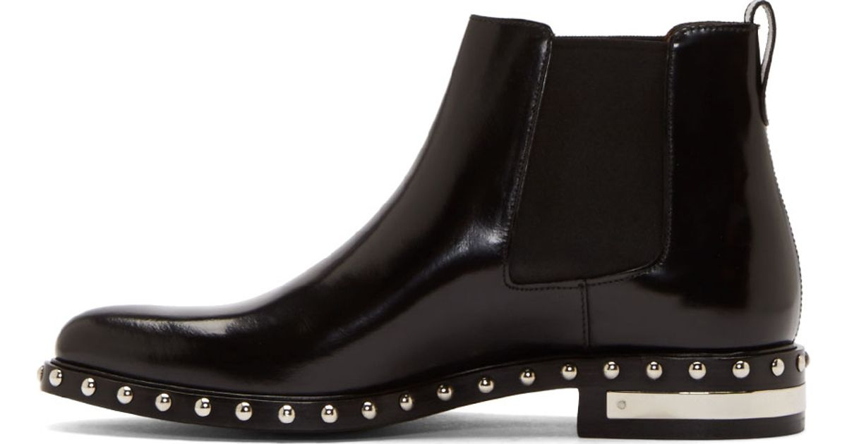 Givenchy Chelsea Boots CHELSEA leather 05BIuur