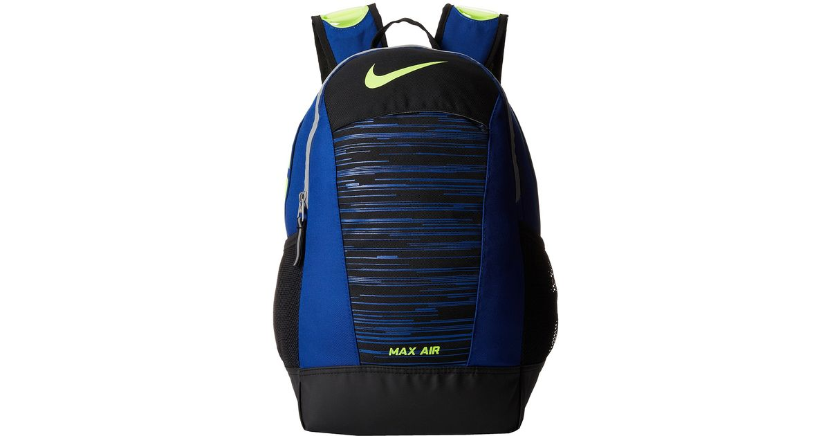 9d0393d07160 Lyst - Nike Max Air Team Training Small Backpack (Young Athletes) in Blue