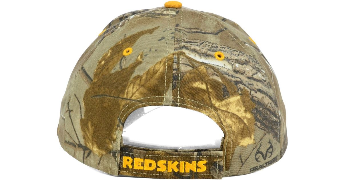 bcbdb6150 Lyst - 47 Brand Washington Redskins Real Tree Frost Cap in Green for Men
