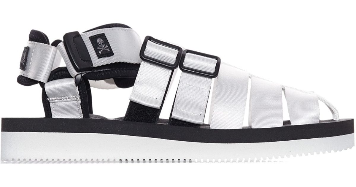 20176de2eedf Lyst - Mastermind Japan Suicoke Sandals in Metallic for Men