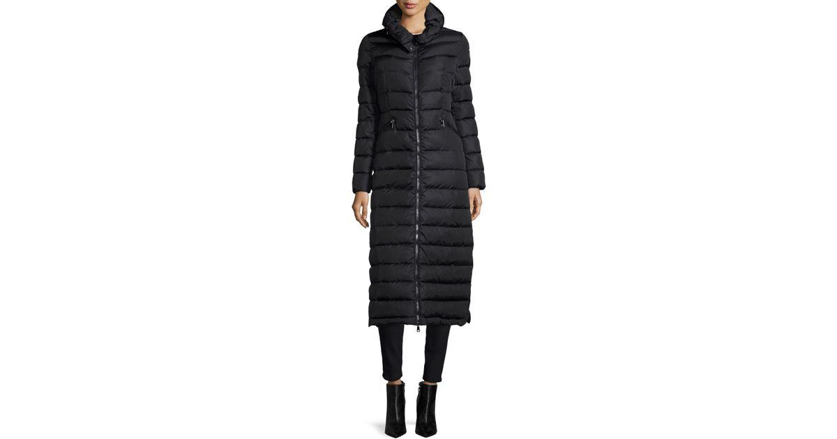 moncler long puffer jacket