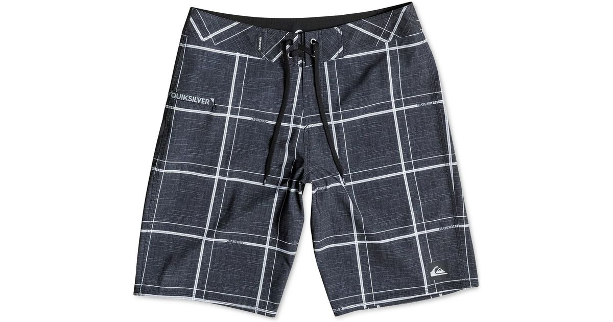 609aad0f2e Quiksilver Quicksilver Electric Stretch 21 Board Shorts in Black for Men -  Lyst