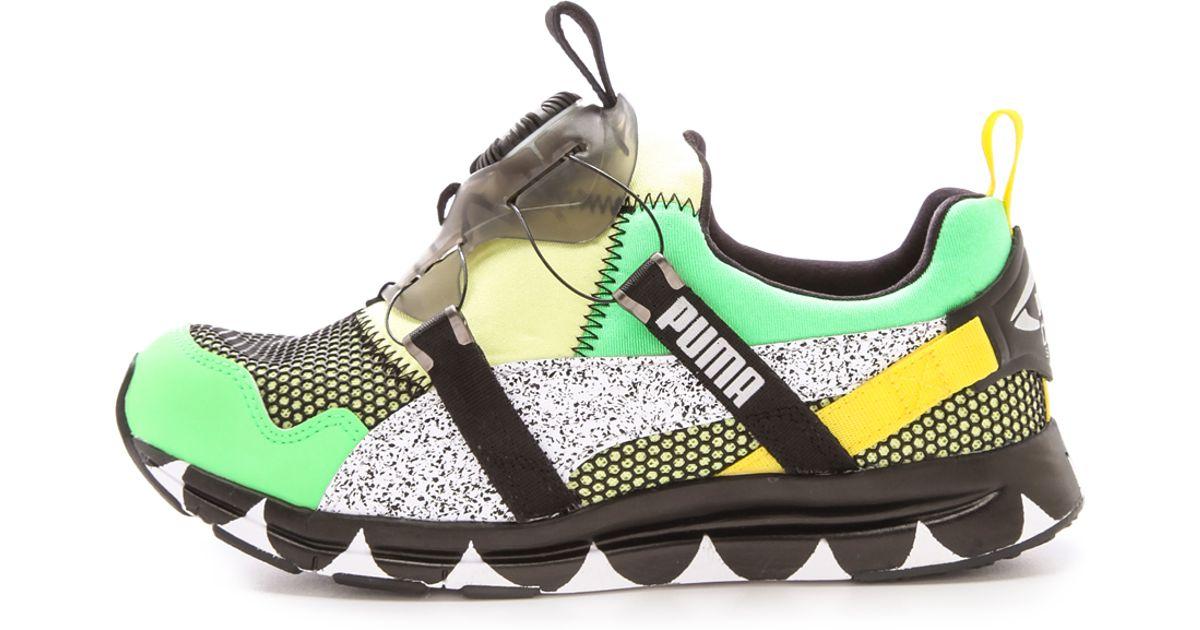 promo code 3bd93 18654 PUMA X Solange Girls Of Blaze Disc Tire Sneakers - Lyst