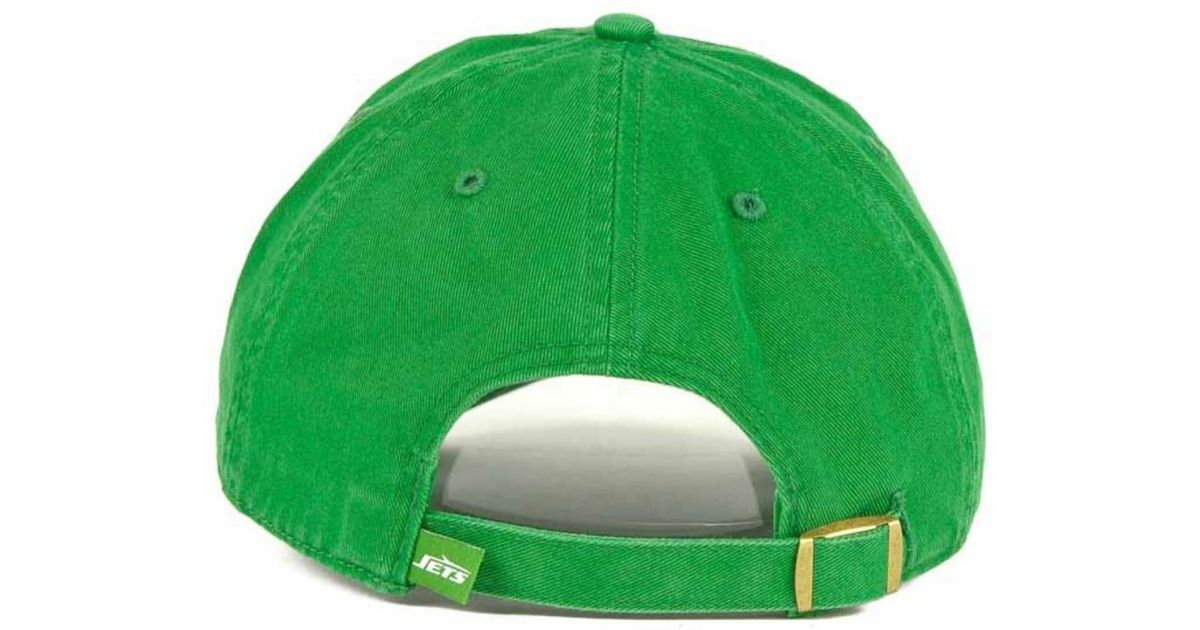 caf1ee1d5 Lyst - 47 Brand New York Jets Clean Up Cap in Green for Men