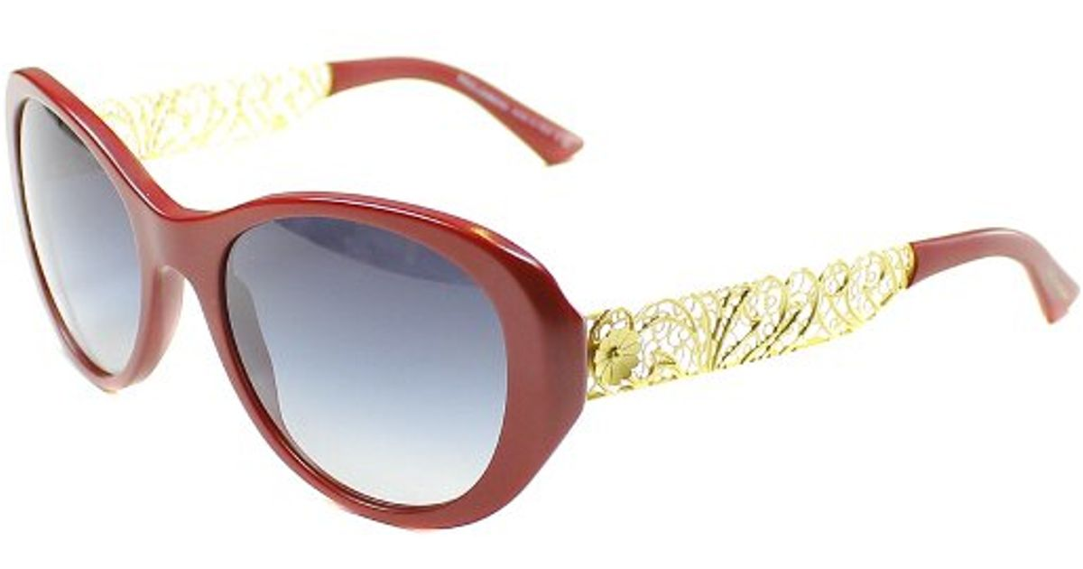 Dolce And Gabbana Red Sunglasses  dolce gabbana dolce and gabbana dg 4213 25838g matte red round