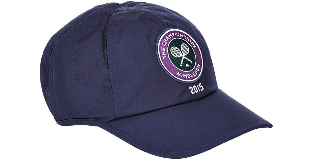 4932f854 ... wholesale polo ralph lauren wimbledon cross court cap in blue for men  lyst a2441 7db26