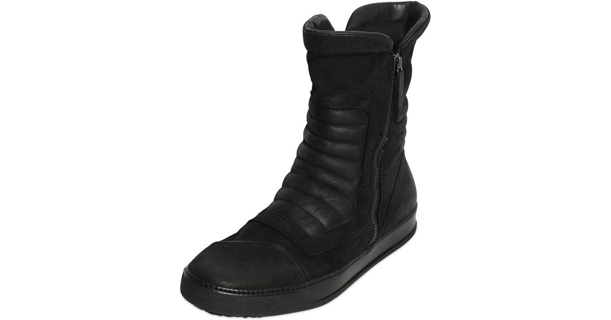 high top sneakers - Black Bruno Bordese THRe5n