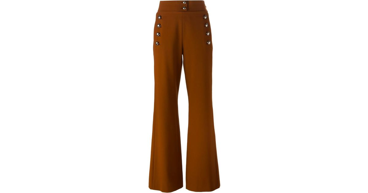 Flared trousers Chlo Shop For Sale Online 0cSLZ8rU8w