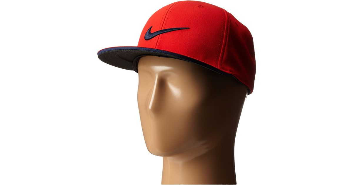 639921bf77 Lyst - Nike True Tour Cap in Red for Men
