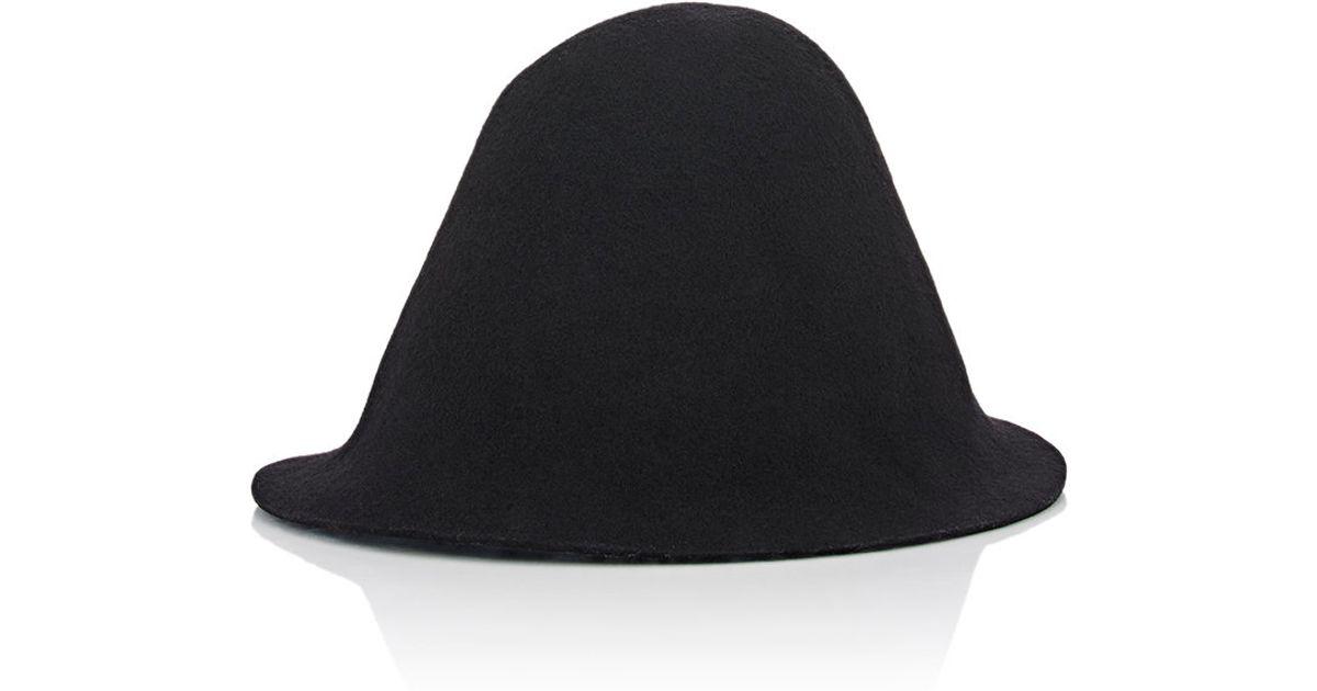 Lyst - Comme des Garçons Bucket Hat in Black for Men 9810d152537