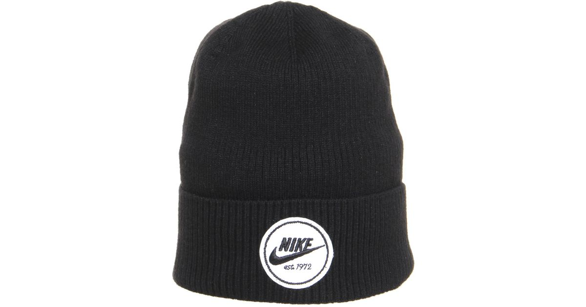 b21c999b5 Nike Beanie Cuffed Core in Black for Men - Lyst