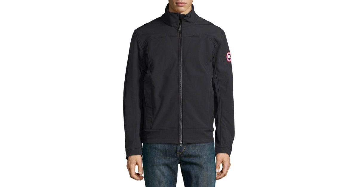 canada goose black lightweight jacket