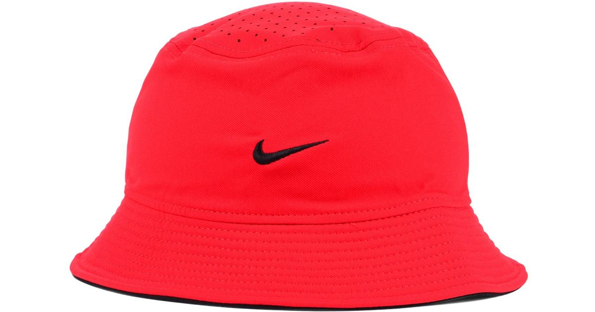 Lyst - Nike Georgia Bulldogs Vapor Bucket Hat in Red for Men 27b0f0eee5e