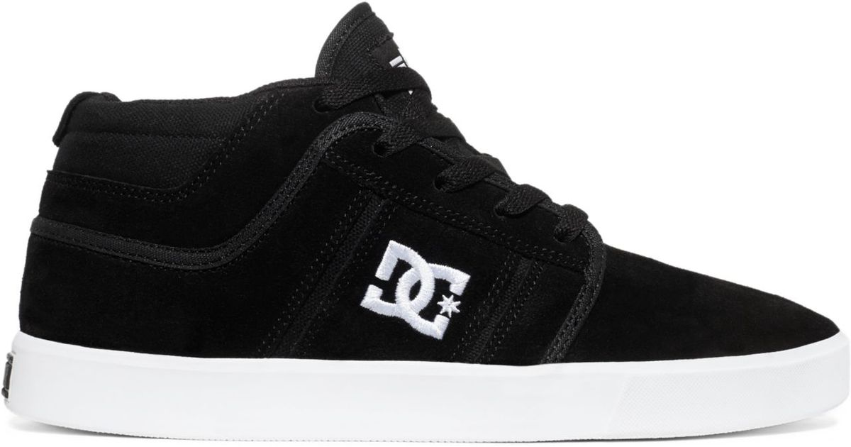 ba7a6b5d6bd3 Lyst - DC Shoes Rd Grand Mid-Top Sneakers in Black for Men