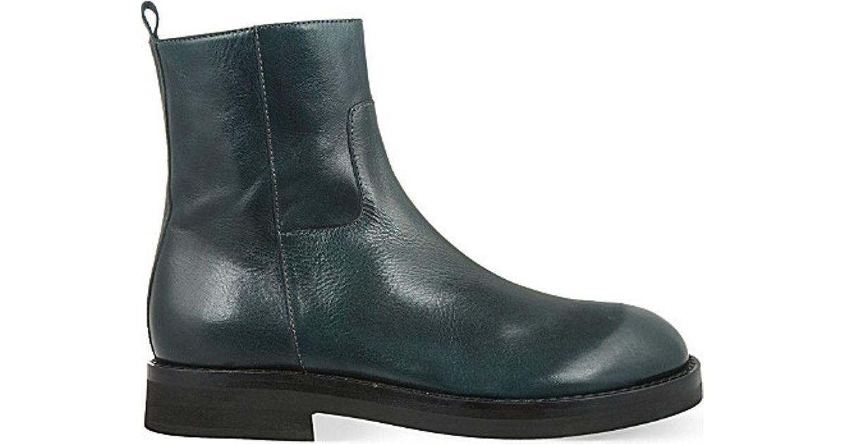 Ann Demeulemeester Black Felix 5 Boots AR0HV