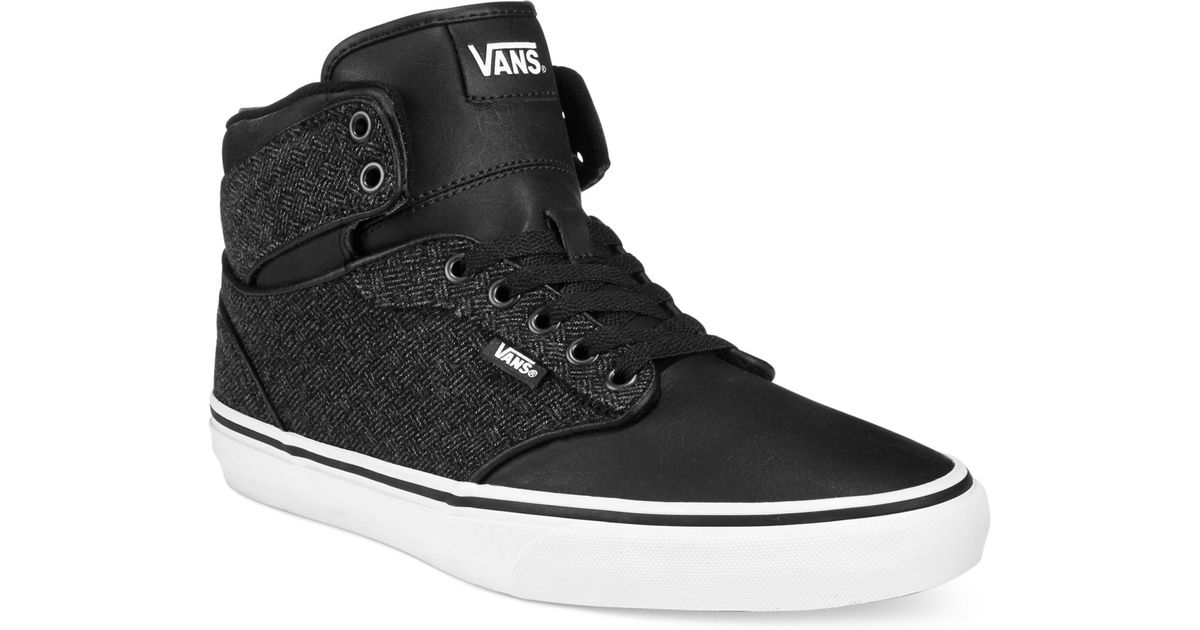 vans black atwood shoes