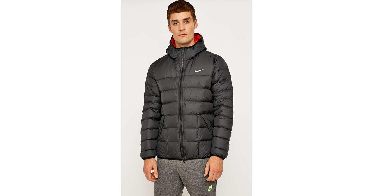 988283e684a4 Black Jacket Men Hooded Lyst Nike 550 For In Alliance RqUnt0X