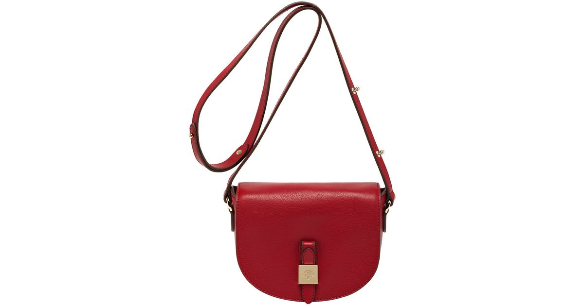 f407fc73aa ... netherlands mulberry tessie small satchel in red lyst 5e2cb 1fee9