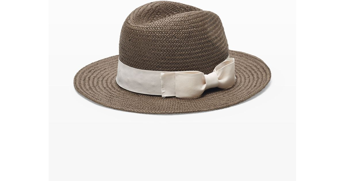 d0d37501f89d4 Club Monaco Hat Attack Continental Hat in Brown - Lyst
