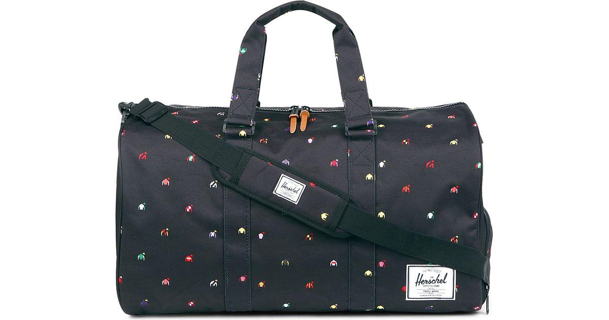 Herschel Supply Co Jockey Jersey Novel Travel Bag In Black For Men Lyst