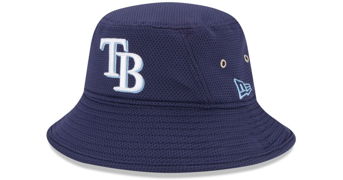 d5f24682552 Lyst - Ktz Tampa Bay Rays Team Redux Bucket Hat in Blue for Men