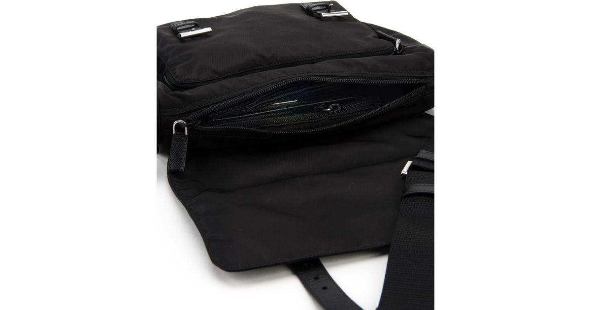 Prada Borsa Pattina Vela in Black (NERO) | Lyst