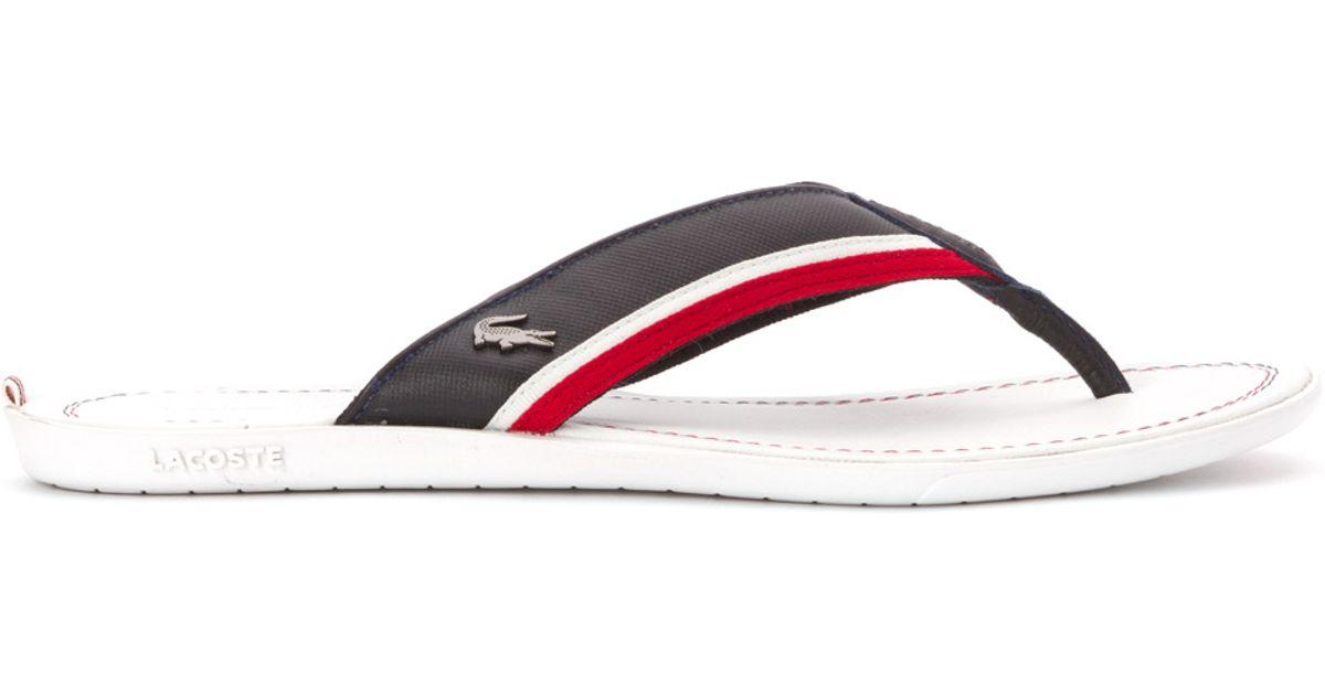 1336e1271 Lyst - Lacoste Carros 2 Sandal in White for Men