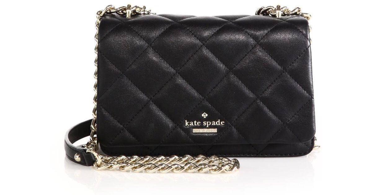 Black Quilted Kate Spade Purse Best Purse Image Ccdbb