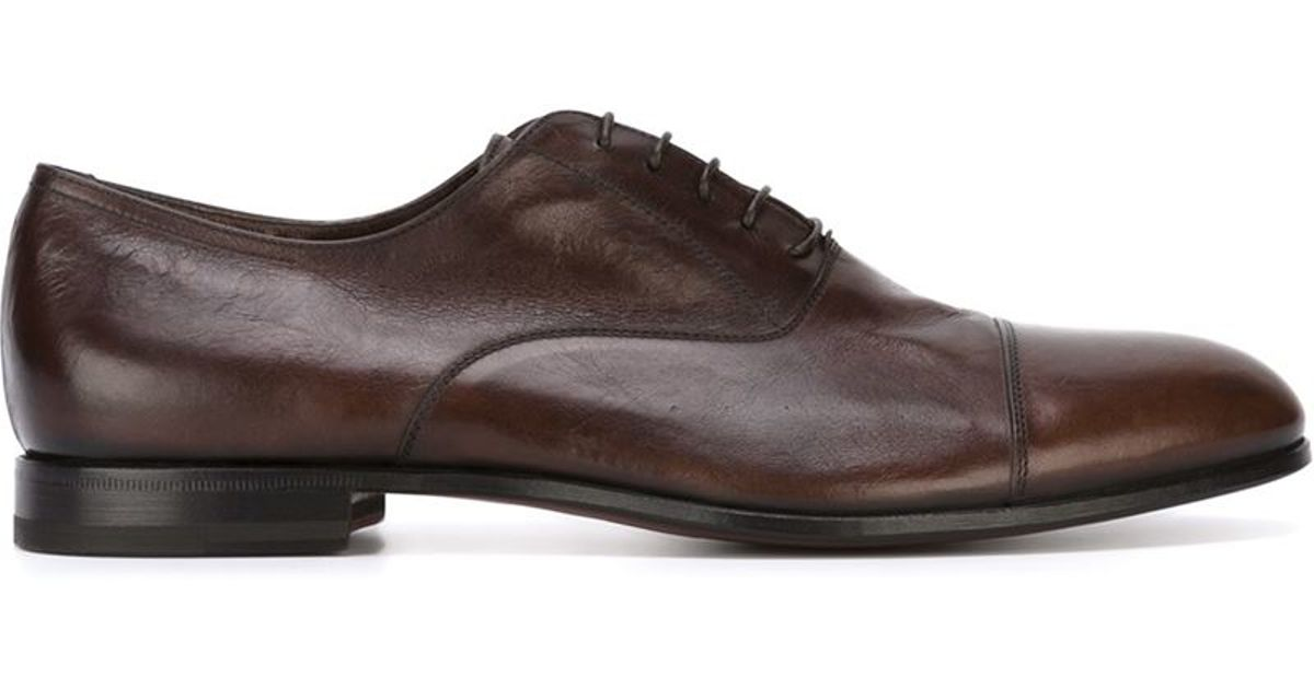 W Gibbs Brown Classic Oxford Shoes For Men Lyst