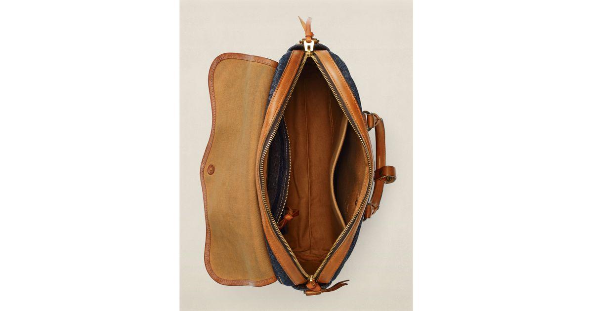 efbe5c80bd RRL - Blue Emerson Shoulder Bag for Men - Lyst