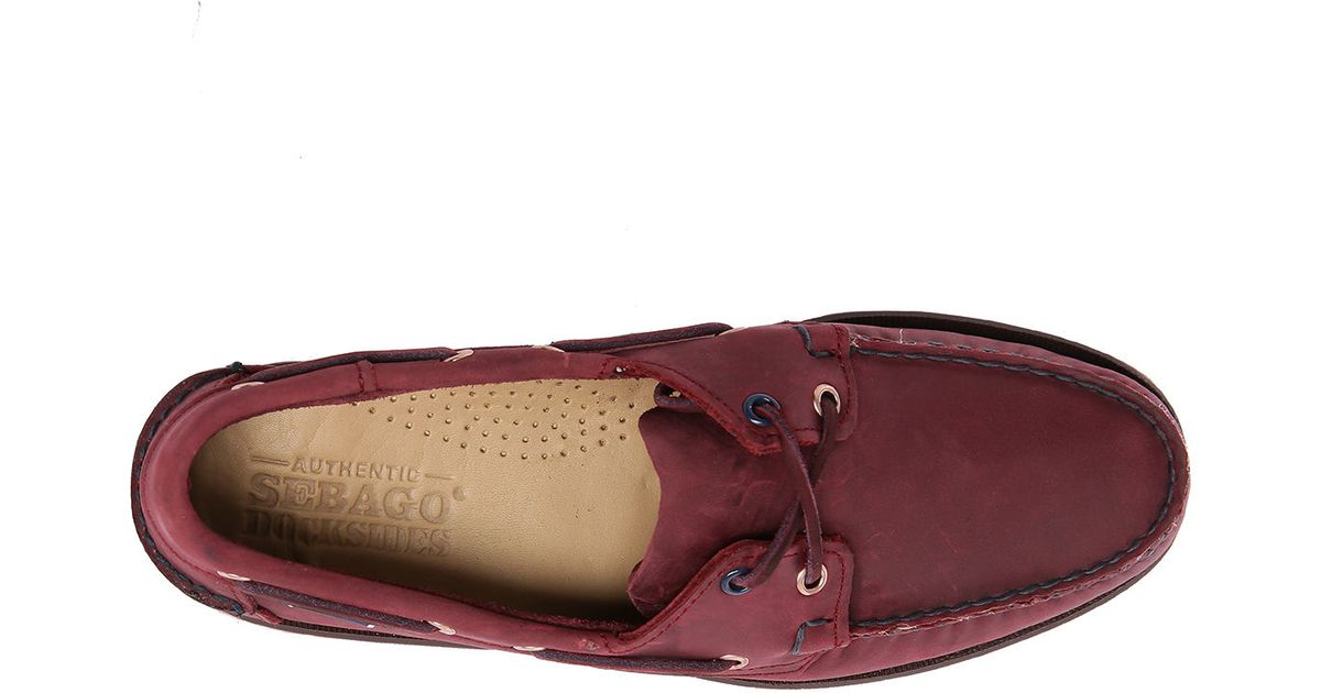 Womens Deck Shoes With Purple Jeans